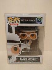 Funko Pop Elton John 62 Greatest Hits. Pop Protector