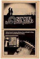 Tim Hart Maddy Prior Steeleye Juicy Lucy LP advert 1971 RS-XCVA