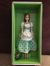 2015 Barbie Limited Edition Gold Label St. Patrick's Day Doll w/Shipper R2S