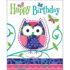 Owl Pal 8 Ct Invitations Birthday Party with Envelopes