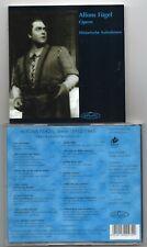 Alfons Fugel - Opera  - Historic Recordings 1941-1944  (CD  1997)