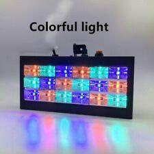 Sound Led Stage LED Room strobe 18 RGB DJ Lights Disco Flash  Club Bar US plug !