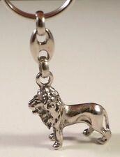 Porte-clés LION 3D - en métal patiné
