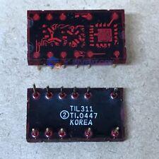 1pcs TIL311 TI L311 Hexadecimal Display With Logic DIP New