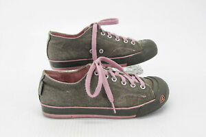 Keen Women Shoe Coronado Size 7.5M Gray Fashion Athletic Sneaker Pre Owned xq