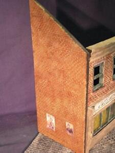 1/35 Scale External Wall Sections ( 2 walls 260mm x 110mm )