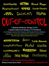 OUT-OF-CONTROL DBT CBT Therapy Workbook Melanie Sheets for AA Borderline Bipolar