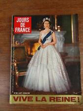 Magazine Mode actu JOURS DE FRANCE - 909 - 23-05-1972 QUEEN REINE ELISABETH