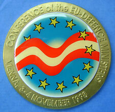1998 Vienna - medal Conference of the EU defence ministers 3/4-11-1998