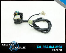 2009 YAMAHA FZ6R FZ6  FZ600 R FAZER TURN SWITCH PARTS HAND CONTROL BOTTOM 09 Y43