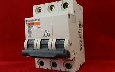 MERLIN GERIN 24351 C60N 20A 20AMP C TYPE C20 TRIPLE POLE TP 3P MCB FUSE SWITCH