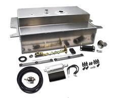 1955-59 Chevy Truck Gas Tank Combo Kit for EFI Conversion, Aluminum, 19 Gallon
