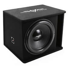 "NEW SKAR AUDIO SDR-1X18D2 1200 WATT SINGLE 18"" LOADED VENTED SUBWOOFER ENCLOSURE"