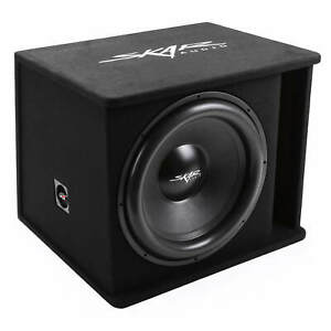 "NEW SKAR AUDIO SDR-1X18D2 1200 WATT SINGLE 18"" LOADED VENTED SUBWOOFER ENCLOSURE"