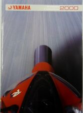 CATALOGUE PROSPECTUS YAMAHA 2000 GAMME COMPLETE MOTO QUAD SCOOTER CROSS TRAIL