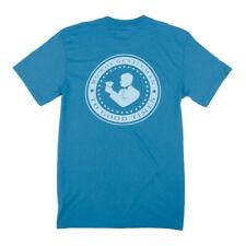 Rowdy Gentleman Good Times Seal Surf Blue Small Pocket T-Shirt SS Men Women