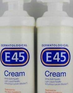 E45 CREAM 500g.  X 2