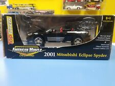 "ERTL AMERICAN MUSCLE  2001 MITSUBISHI ECLIPSE SPYDER ""NEW"""