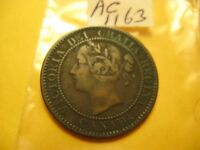 1859 Large Cent Canada Don't Know Which Variety ID#AC1163.