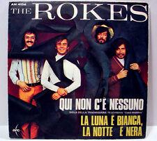 """ROKES - Qui Non C'e' Nessuno (Arc) - '68 Italy press freakbeat - 7""""/45rpm w/PS"""