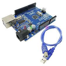 ATMEGA uno r3 BOARD/ATmega 328/USB Câble contiennent pour Arduino Compatible