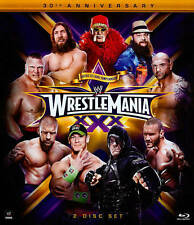 WWE: Wrestlemania XXX (Blu-ray Disc, 2014, 2-Disc Set)