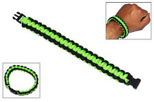 NEW Elite Forces Survival Bracelet - Neon Green