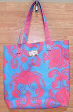 Genuine Estee Lauder Lilly Pulitzer Pink & Blue  Grab Design Beach Tote Bag