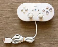 OFFICIAL AUTHENTIC GENUINE NINTENDO Wii WHITE CLASSIC CONTROLLER GAMEPAD/JOY PAD