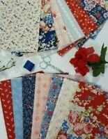 MACKINAC ISLAND Minick and Simpson Quilt Fabric Bundle Moda ~ 14 Fat Quarters