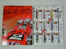 2019 Indianapolis 500 103rd Running Official Program w/ Starting Line-Up Insert
