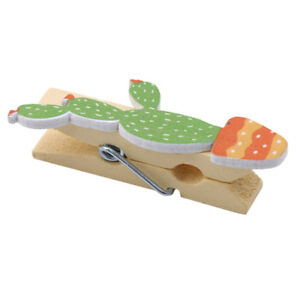Stationery Wooden Product School Supplies Clip Wood Kawaii For Photo Cartoon JA