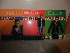 House Seasons 2,3 and 4 on DVD used