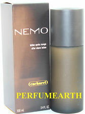 NEMO AFTER SHAVE LOTION 3.3 / 3.4 OZ BY CACHAREL & NEW IN A BOX