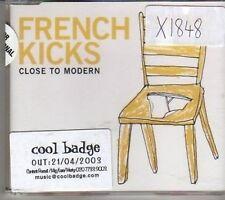 (CL903) French Kicks, Close To Modern - 2003 CD