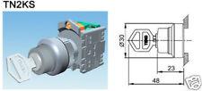 Control Components Key Selector Switch TN2KS21-1B TEND