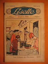 LISETTE N° 10 du 06/03/1938 -18 ème année -éditions de Montsouris