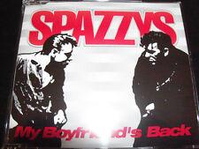 Spazzys My Boyfriends Back Rare Australian CD Single - Like New