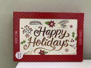 "Hallmark Image Arts ""Happy Holidays"" Boxed Cards, 16 cards"