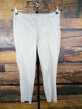 PARAPHRASE Damen Gr. XS 34 dünne Stoffhose Grau weiß gepunktet Hose Sommer #30C