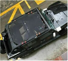4 Door / 4Dr Jeep Wrangler JK JKU Unlimited Sun Shade Bimini Bikini Top Shield