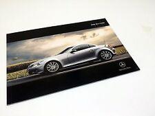2008 Mercedes-Benz SLK-Class Roadster R171 Brochure