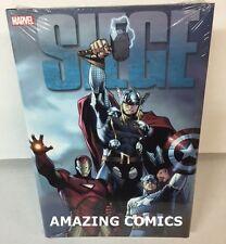 Marvel SIEGE DELUXE Hardcover HC Omnibus - Bendis Avengers Thor - NEW - MSRP $40