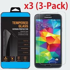 Premium Gorilla Tempered Glass Screen Protector  Film for Samsung Galaxy S5
