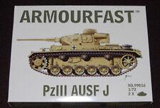 ARMOURFAST PANZER III AUSF.J TANK MODEL KIT NEW 1/72