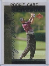 TIGER WOODS Upper Deck Insert ROOKIE CARD Golf RC Foil 2001 PGA LE