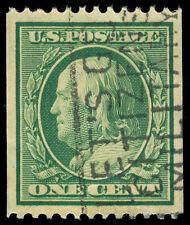 momen: US Stamps #348 Used APS Cert SUPERB