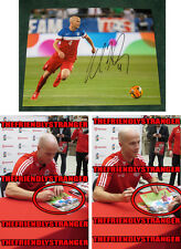 """MICHAEL BRADLEY signed """"TEAM USA"""" 8X10 Photo (D) - EXACT PROOF - 2014 World Cup"""
