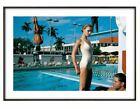 Helmut Newton, 'Pool with Diver', Fine art print, Various sizes