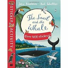 The Snail and the Whale Sticker Book, Donaldson, Julia, New Book